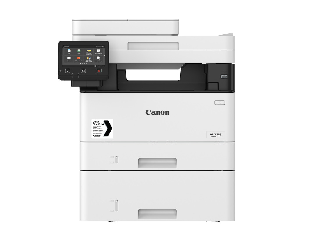 Canon i-SENSYS MF446x printer available ot lease or purchase.