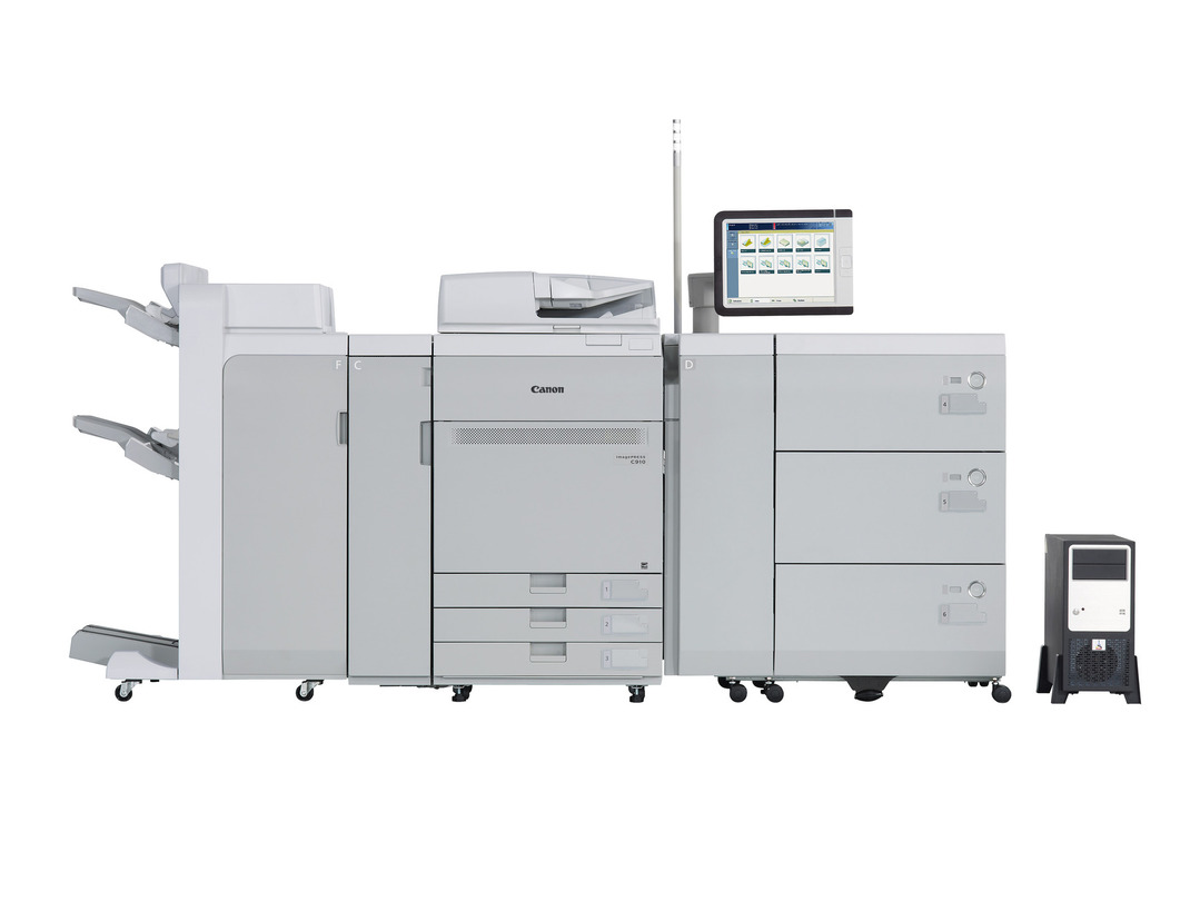 Canon imagePRESS C910 printer available ot lease or purchase.