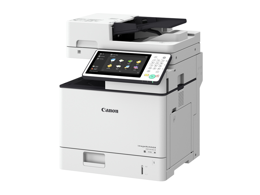 Canon imageRUNNER ADVANCE 715i III printer available ot lease or purchase.