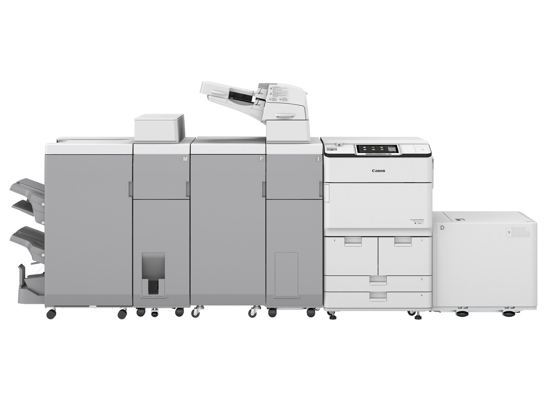Canon imageRUNNER ADVANCE DX 8786 printer available ot lease or purchase.
