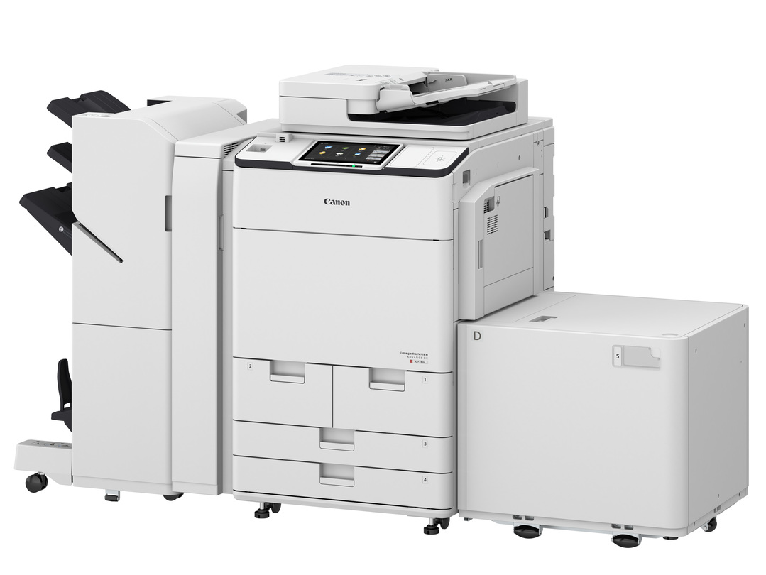 Canon imageRUNNER ADVANCE DX C7780i printer available ot lease or purchase.