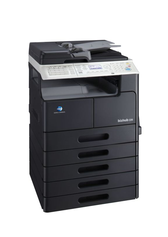 Konica Minolta Bizhub 226 printer available ot lease or purchase.