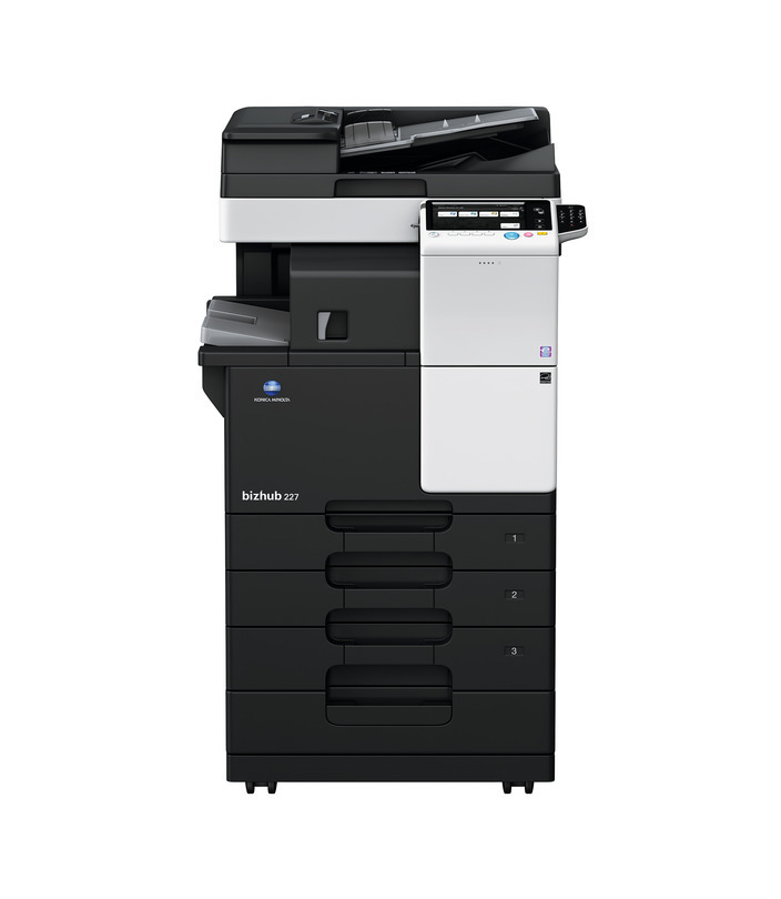 Konica Minolta Bizhub 227 printer available ot lease or purchase.