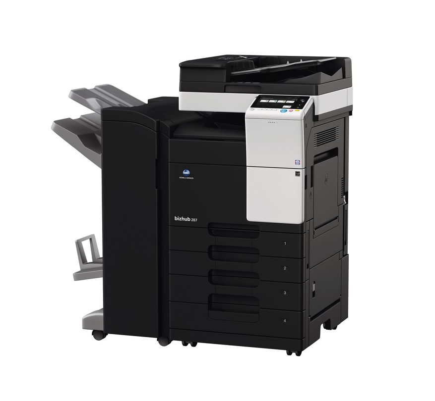 Konica Minolta Bizhub 287 printer available ot lease or purchase.