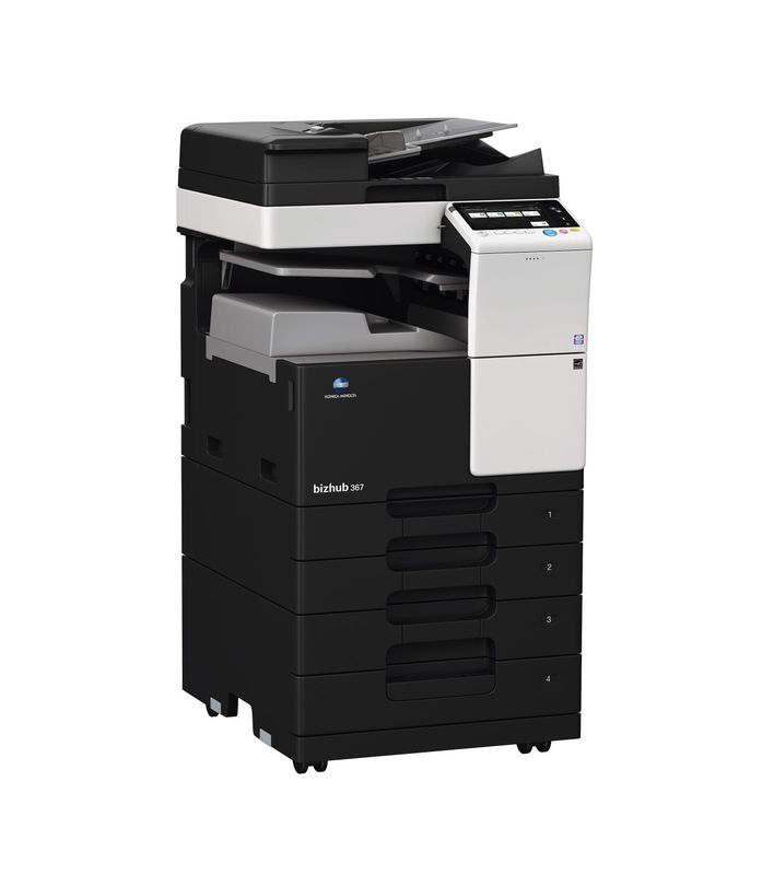 Konica Minolta Bizhub 367 printer available ot lease or purchase.