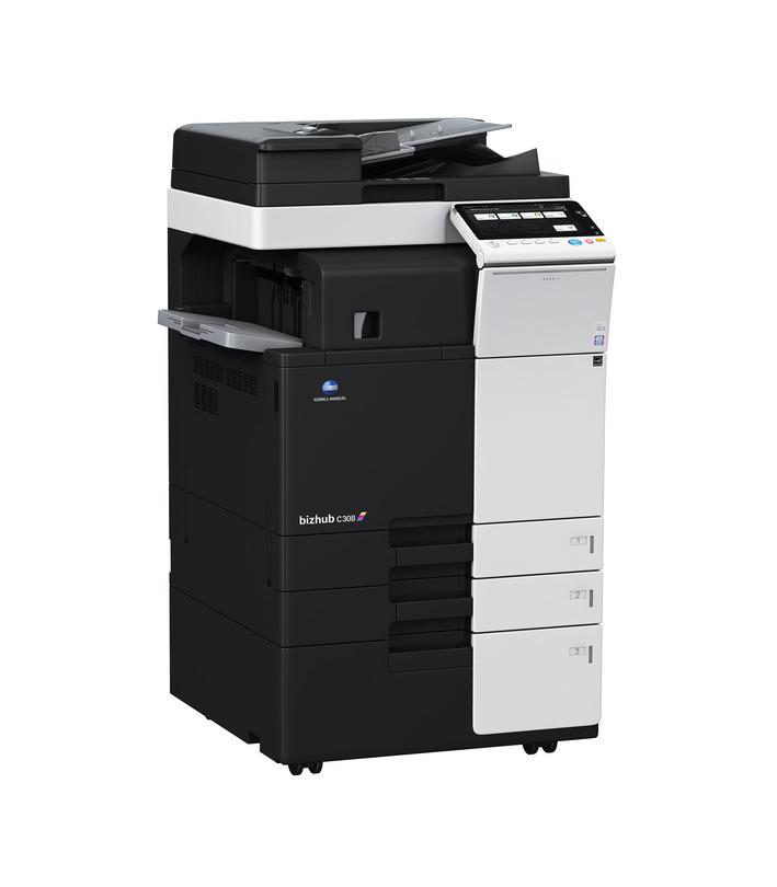 Konica Minolta Bizhub C308 printer available ot lease or purchase.