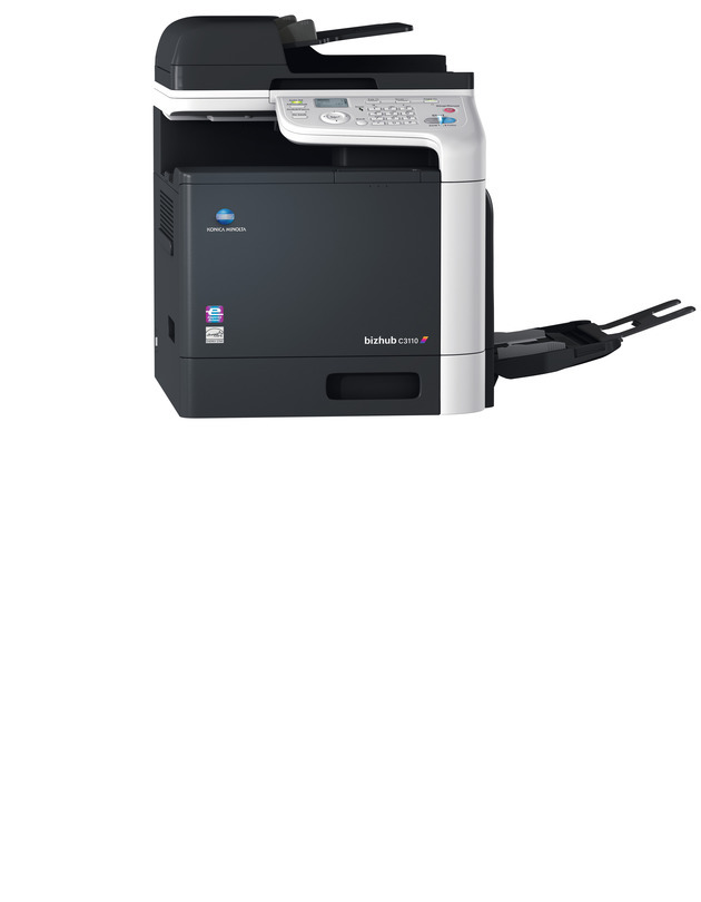 Konica Minolta Bizhub C3110 printer available ot lease or purchase.