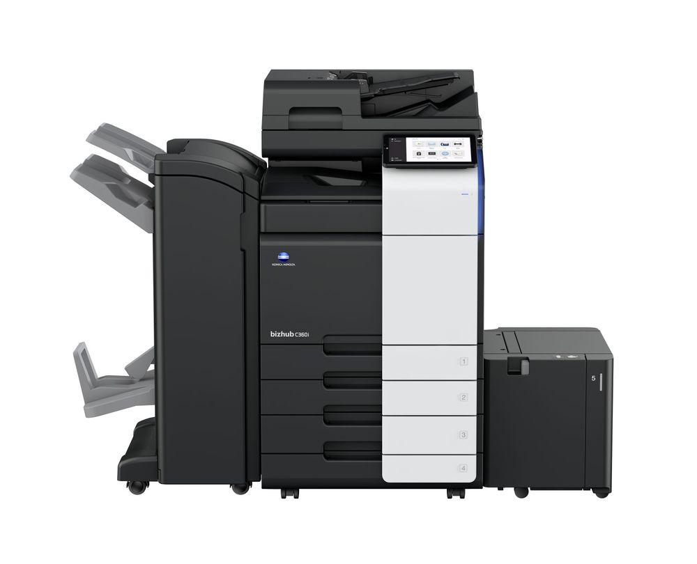 Konica Minolta Bizhub C360i printer available ot lease or purchase.