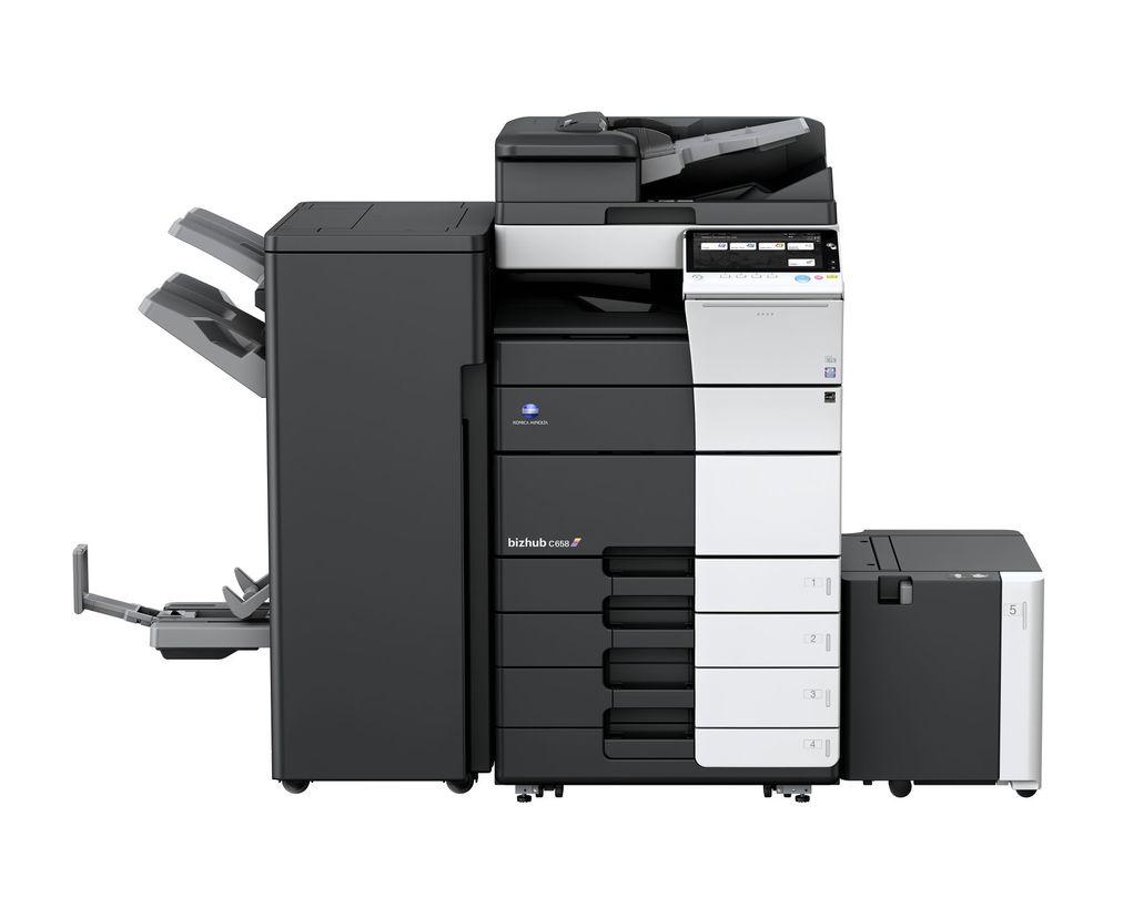 Konica Minolta Bizhub C658 printer available ot lease or purchase.