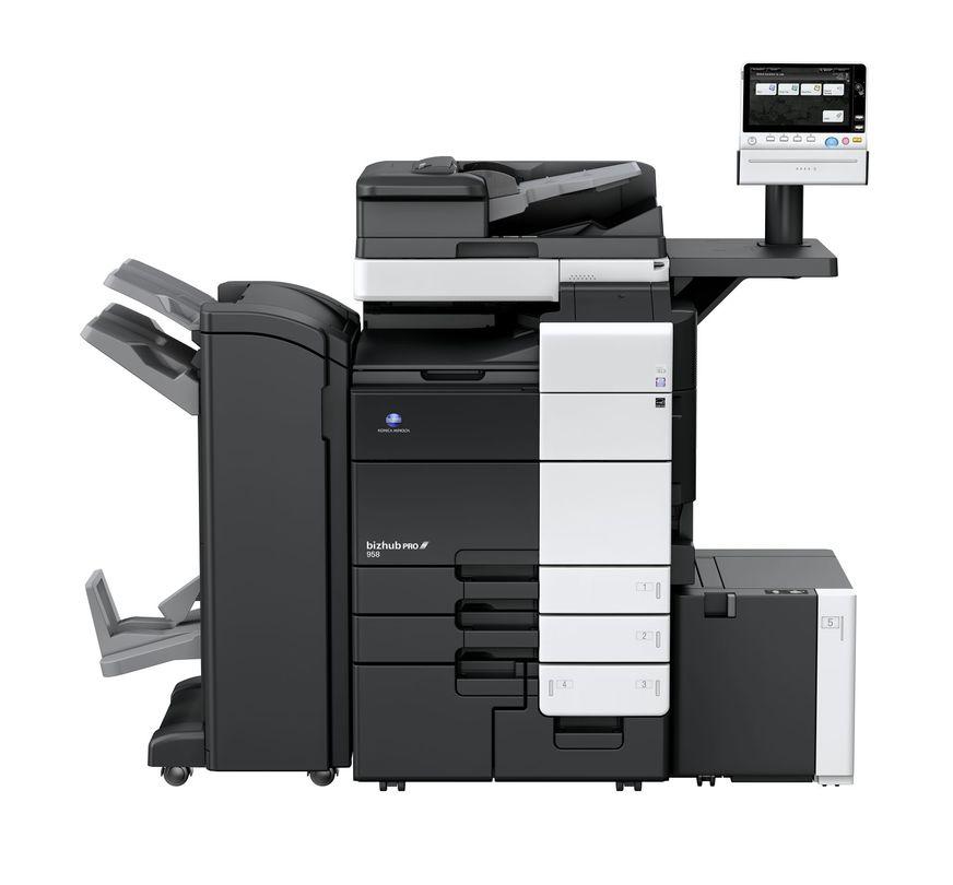 Konica Minolta Bizhub Pro 958 printer available ot lease or purchase.