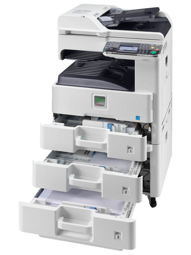 Kyocera ECOSYS FS-6525MFP printer available ot lease or purchase.