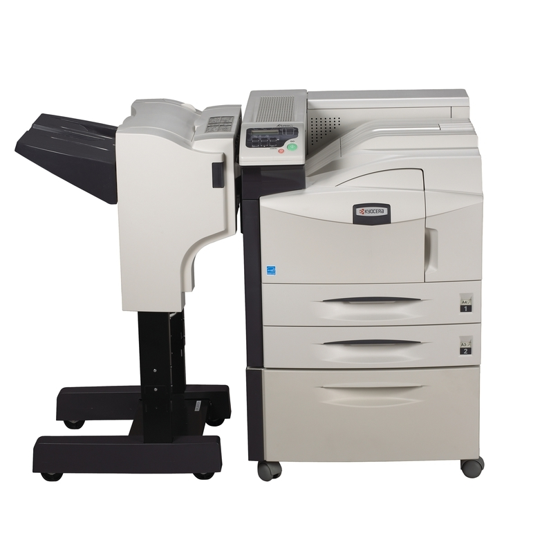 Kyocera ECOSYS FS-9130DN printer available ot lease or purchase.