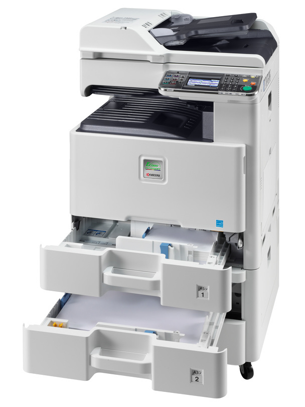 Kyocera ECOSYS FS-C8525MFP printer available ot lease or purchase.