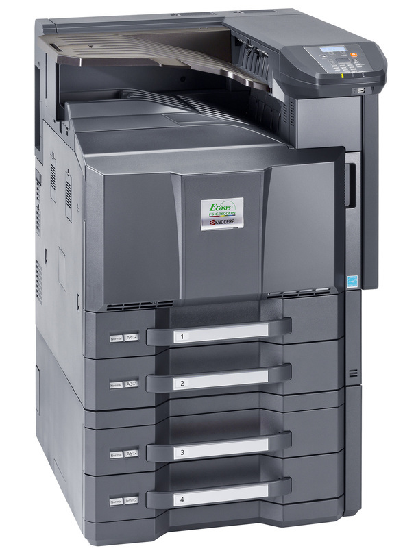 Kyocera ECOSYS FS-C8600DN printer available ot lease or purchase.
