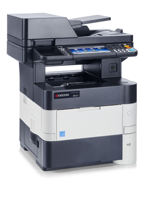 Kyocera ECOSYS M3550idn printer available ot lease or purchase.