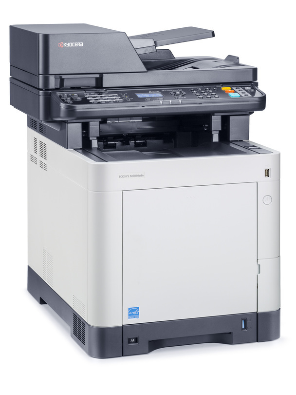 Kyocera ECOSYS M6030cdn printer available ot lease or purchase.