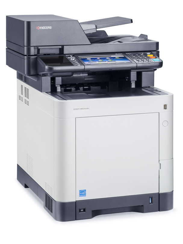 Kyocera ECOSYS M6535cidn printer available ot lease or purchase.
