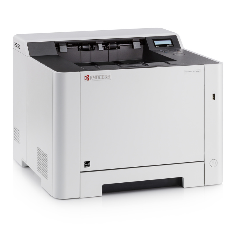 Kyocera ECOSYS P5021cdw printer available ot lease or purchase.