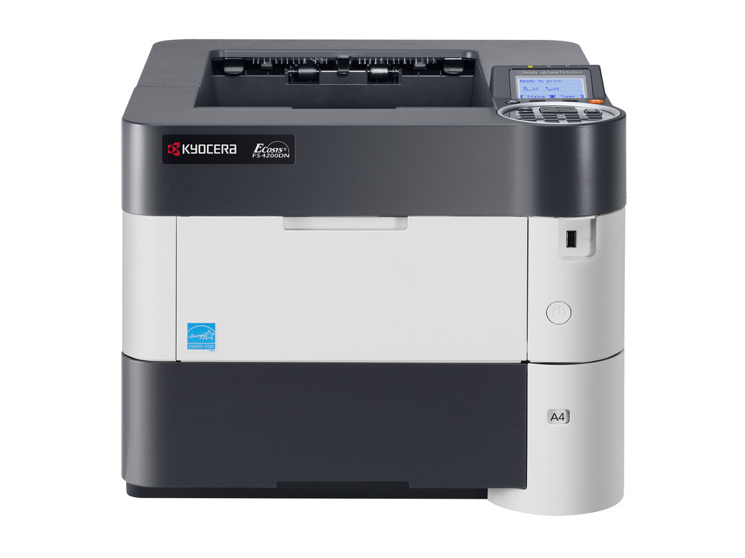 Kyocera FS-4200DN printer available ot lease or purchase.